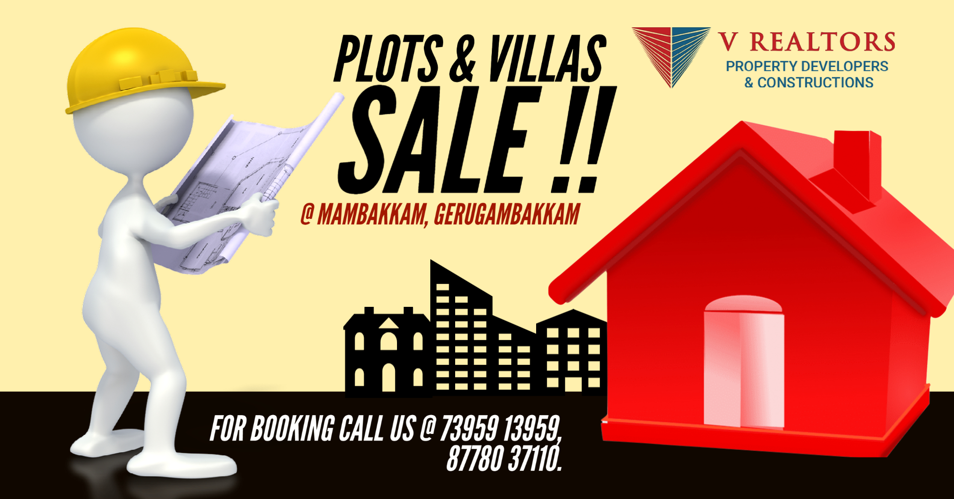 PLOTS AND VILLAS FOR SALE!!!